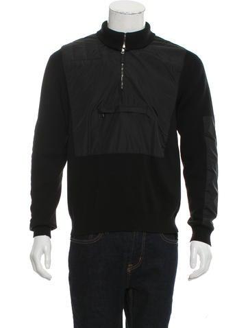 Prada Sport Wool Pullover Hoodie None