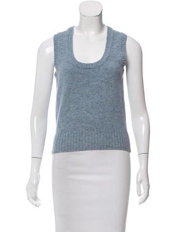 Prada Sport Wool Sweater Vest None
