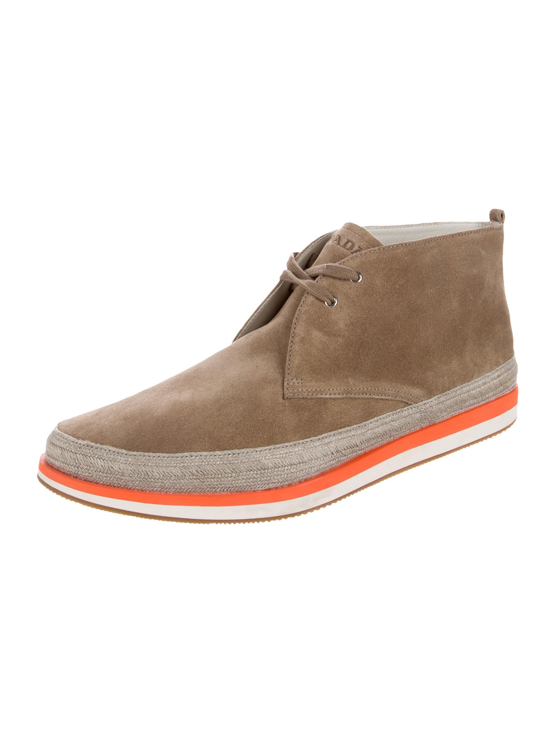 prada sport suede chukka boots shoes wpr44942 the