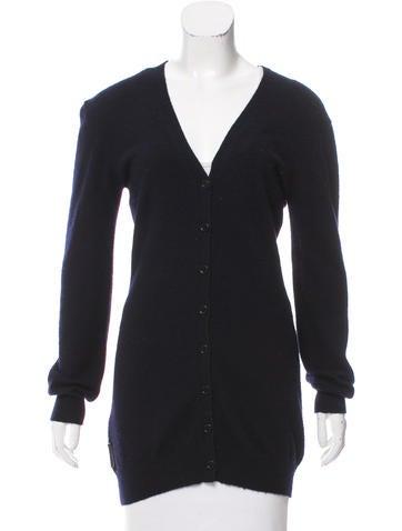 Prada Sport Cashmere Cardigan Sweater None