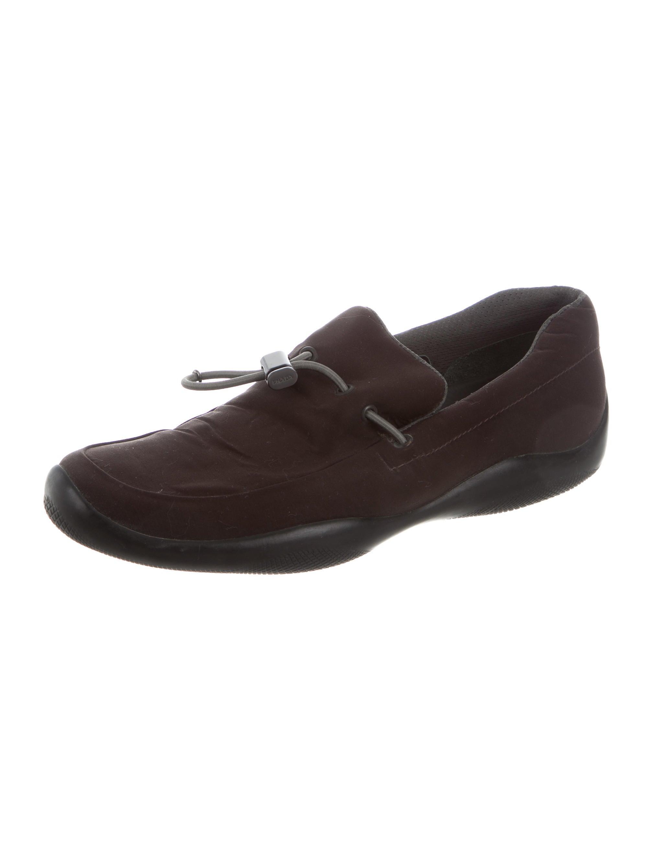 Prada Driving Shoes Brown