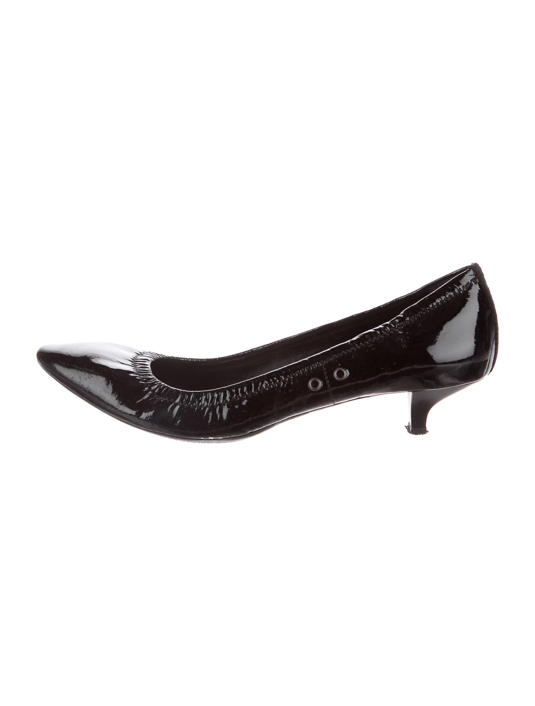 genuine online discount best Prada Sport Patent Leather Round-Toe Pumps outlet low shipping hoIYvZ5P
