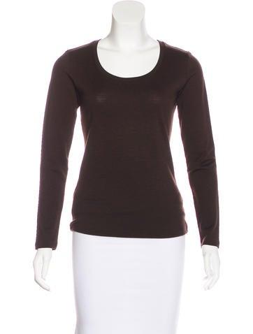 Prada Sport Long Sleeve Wool Top None