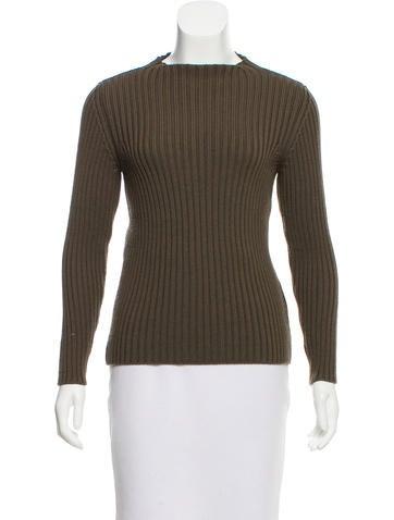 Prada Sport Wool Mock Neck Sweater None