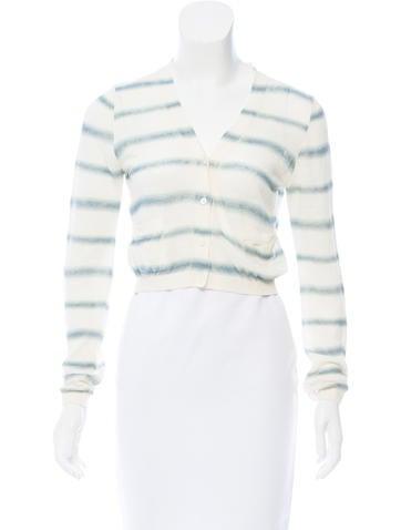 Prada Sport Printed Knit Cardigan None