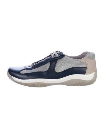 Prada Sport America's Cup Sneakers None