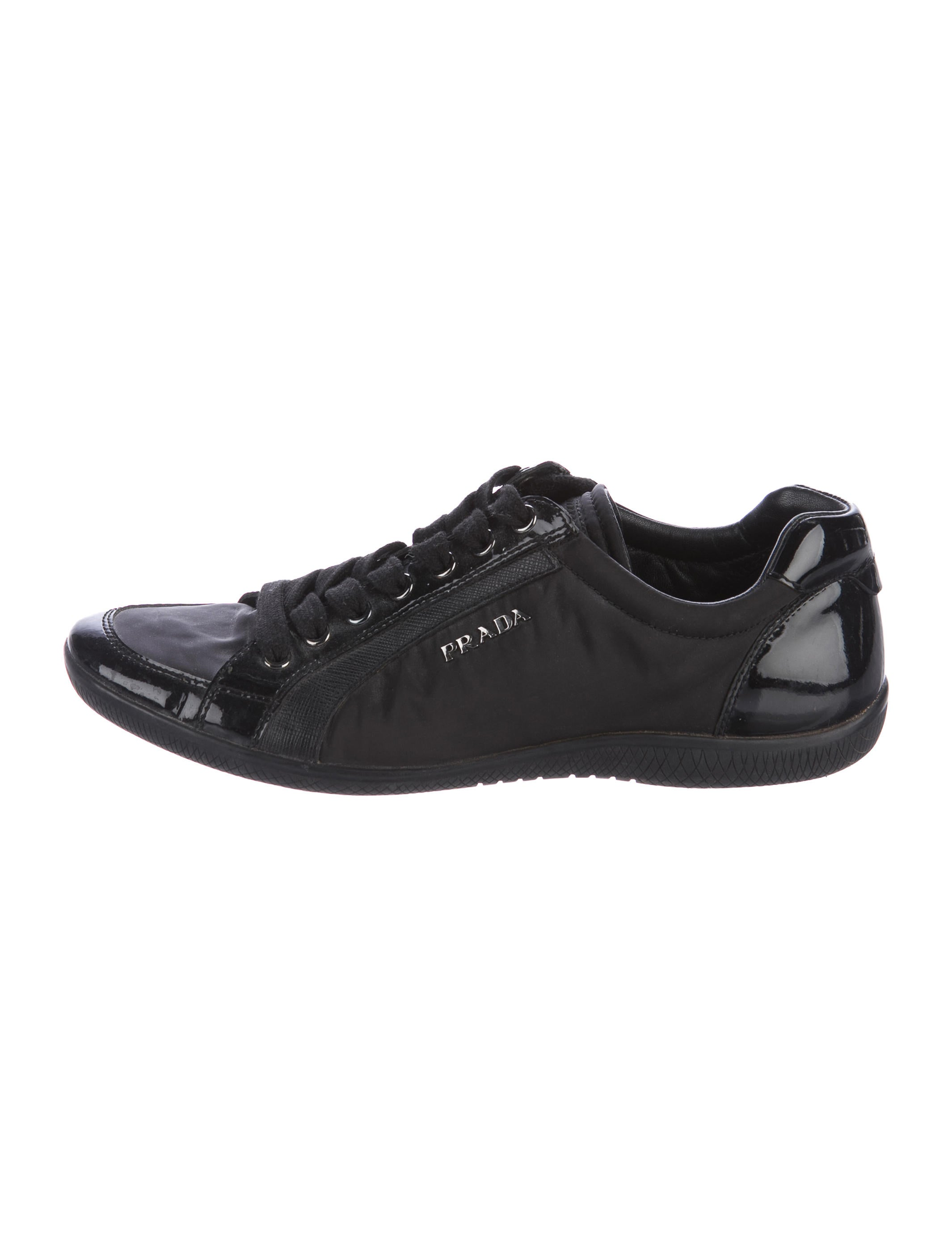 65966d05f361 Prada Sport Nylon Low-Top Sneakers - Shoes - WPR46083 | The RealReal