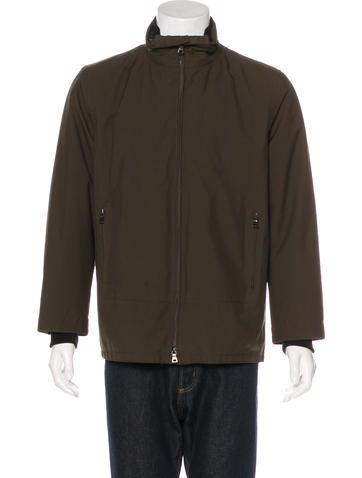 Prada Sport Wool Trim Layered Jacket None