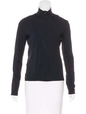 Prada Sport Zip-Up Athletic Jacket None