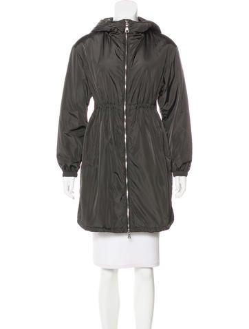 Prada Sport Hooded Zip-Up Jacket None
