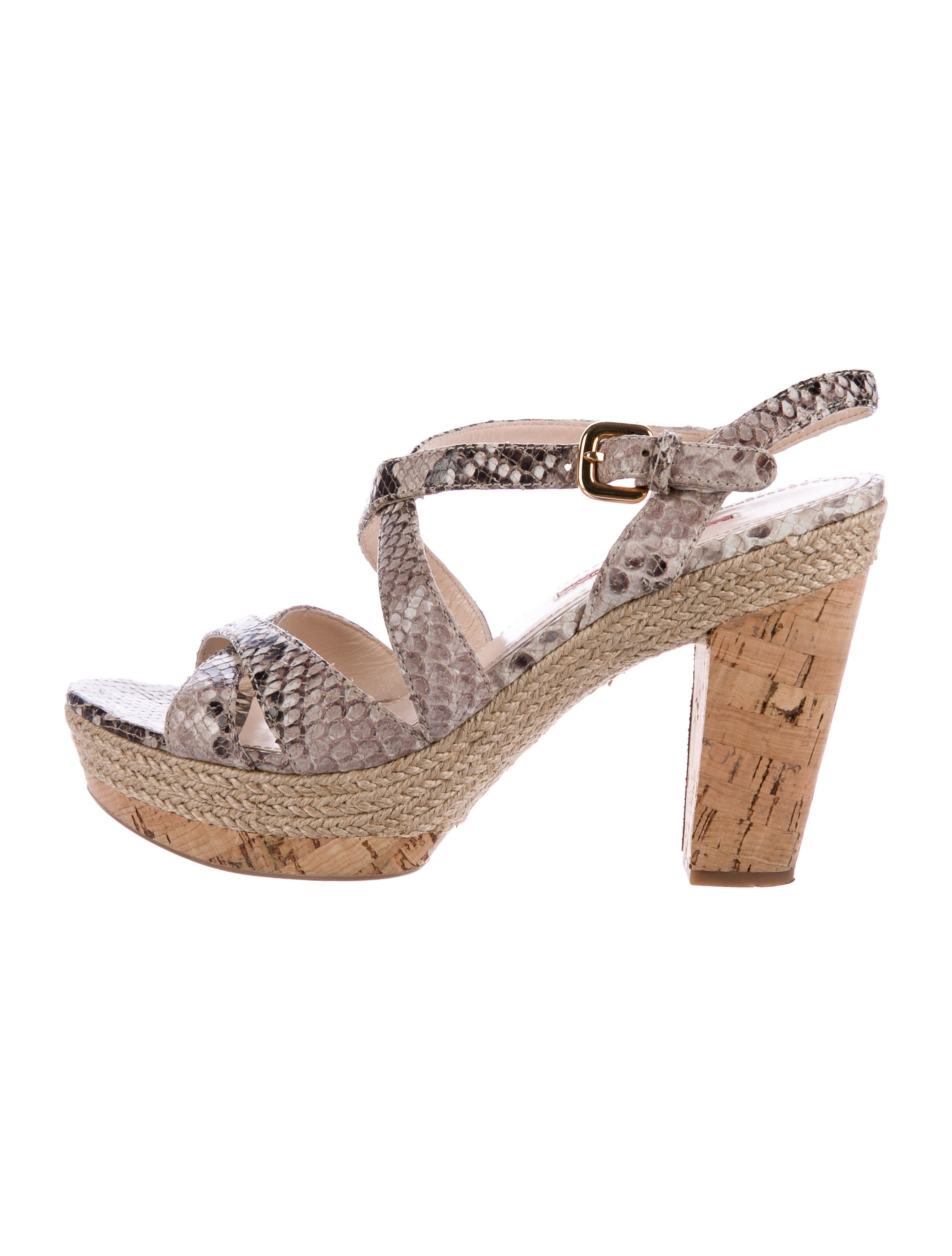 Prada Sport Platform Crossover Sandals big sale online yRRqD