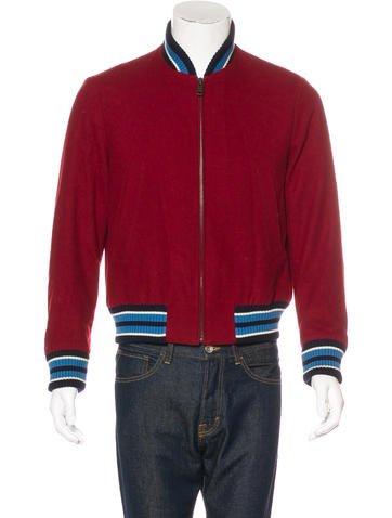 Prada Sport Virgin Wool Bombe Jacket None