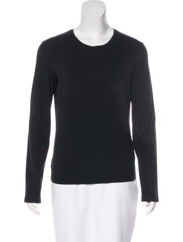 Prada Sport Long Sleeve Knit Top None