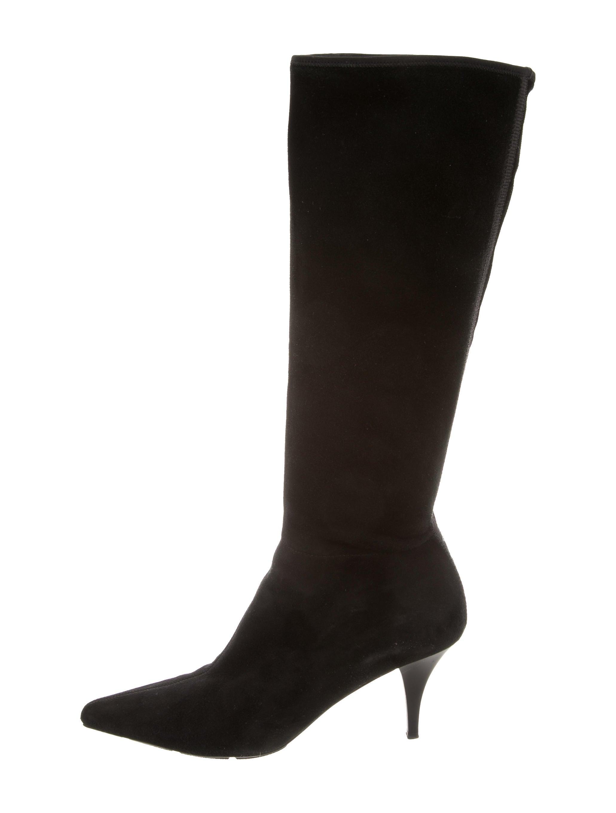 Prada Sport Suede Knee-High Boots really cheap online buy cheap 2014 unisex cheap original fpFNIY0O1a