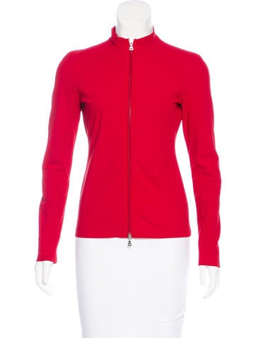 Prada Sport Casual Zip-Up Jacket None