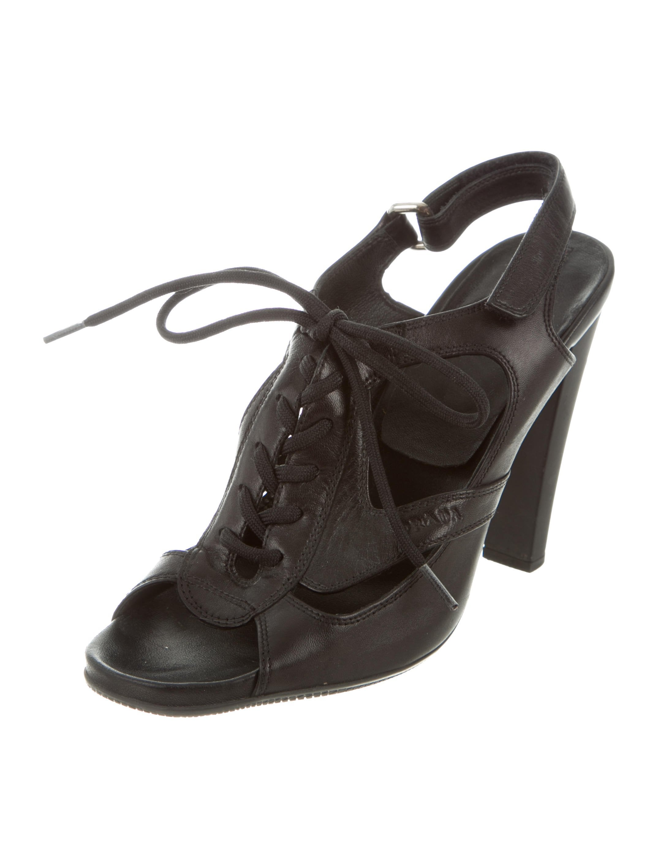 Prada Sport Lace-Up Cage Sandals recommend cheap online free shipping pay with paypal cheap sale looking for free shipping 2014 new 0OcB6G7Ab