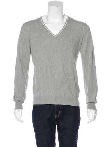 Prada Sport V-Neck Sweater None