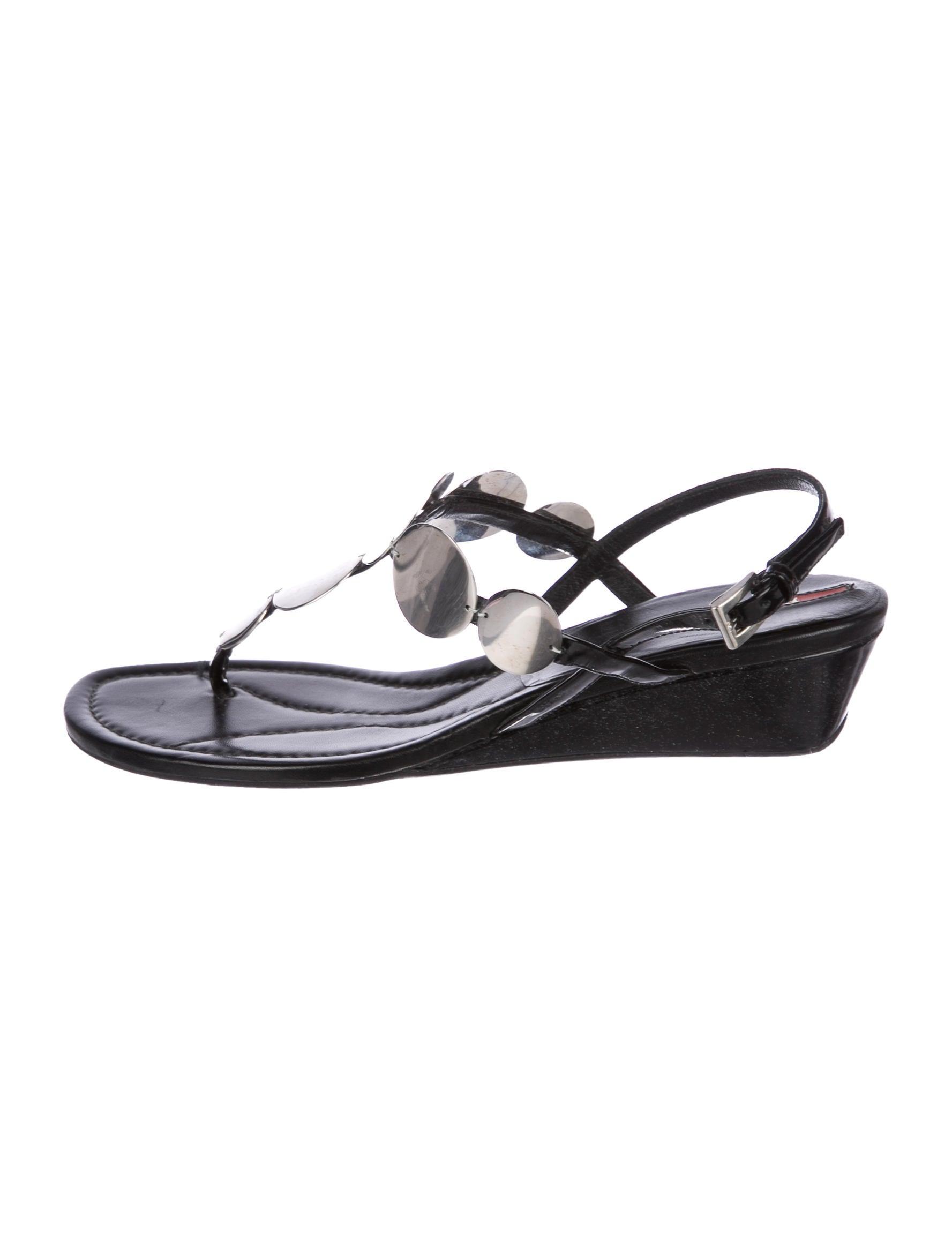 Prada Sport Embellished Thong Sandals outlet discounts outlet 2015 new B4dDgqOKf