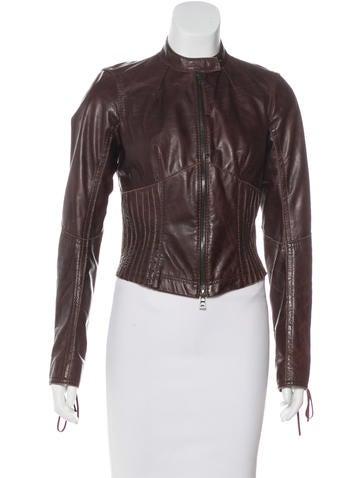Prada Sport Lightweight Leather Jacket None