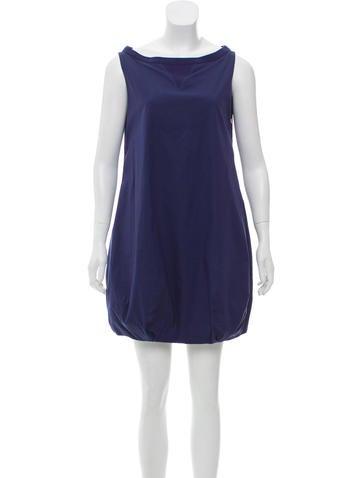 Prada Sport Sleeveless Mini Dress None