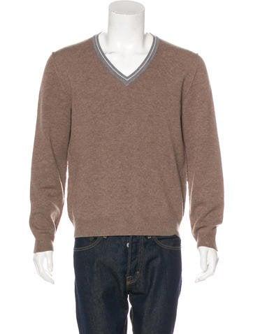 Prada Sport V-Neck Sweater None