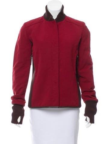 Prada Sport Colorblock Zip-Up Jacket None