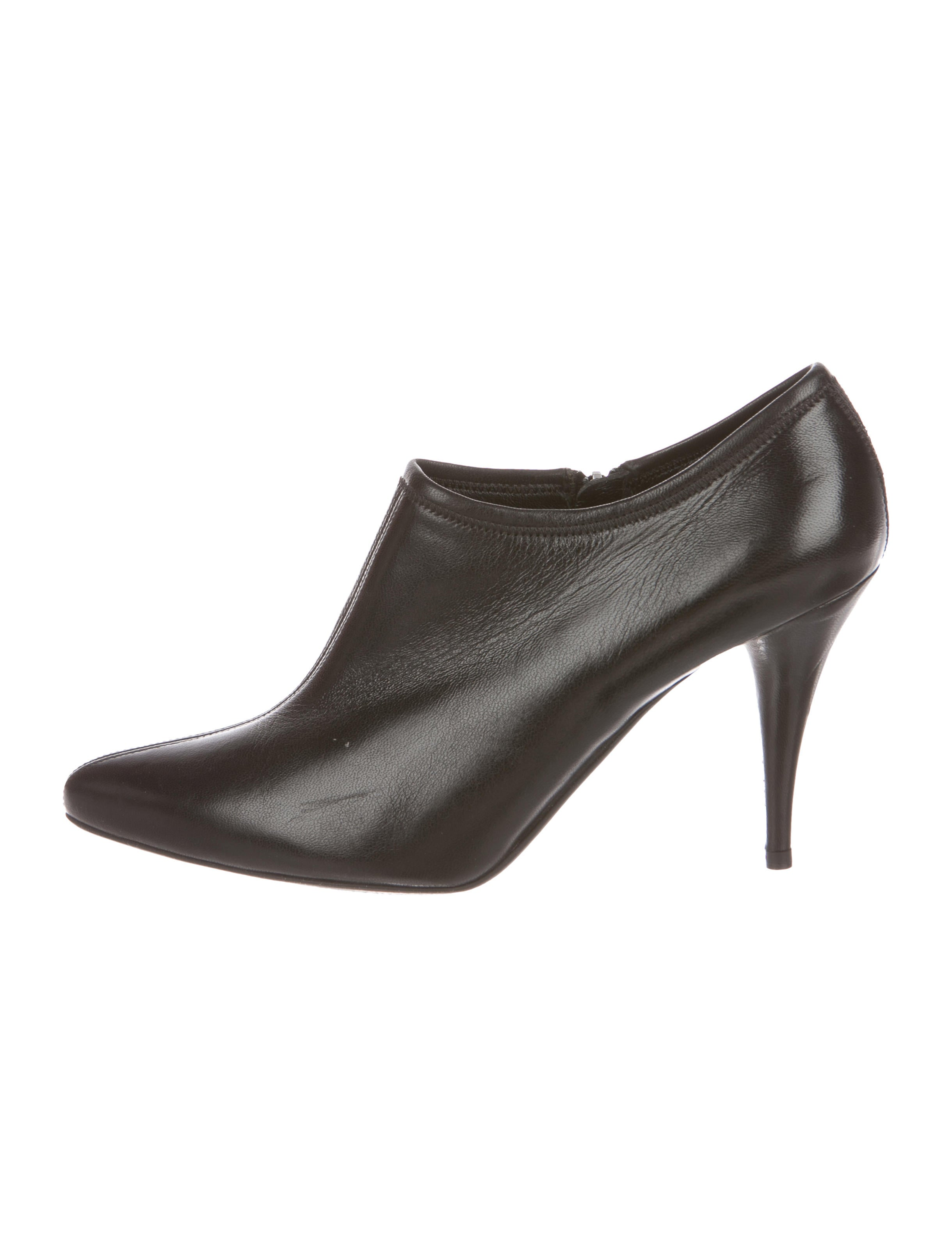 Prada Sport Leather Pointed-Toe Boots buy cheap get to buy 2WgqO9