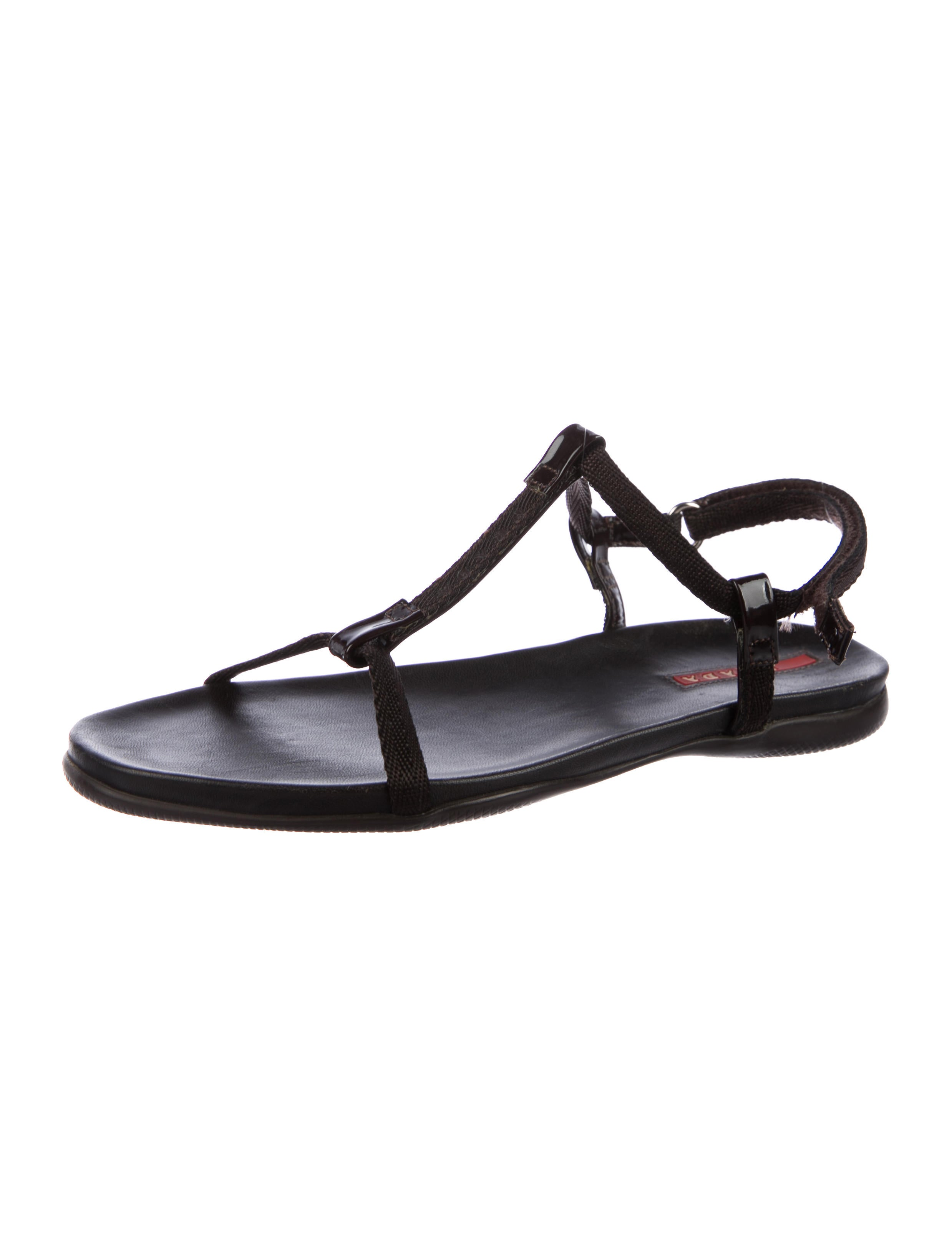 Cheapest cheap online Prada Sport Woven T-Strap Sandals shopping online cheap online low price cheap price jCOYNE