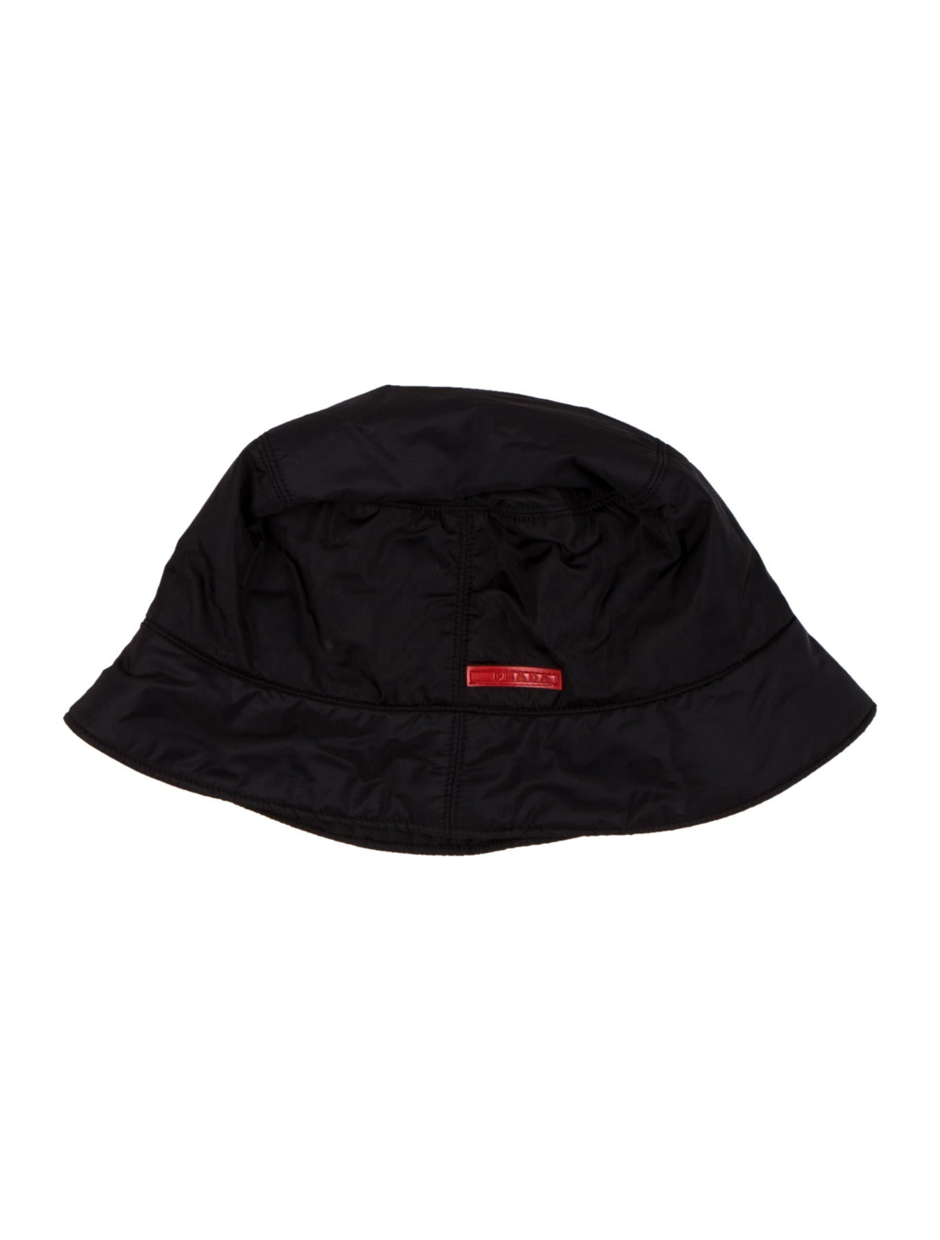 ffe99b105ff Prada Sport Nylon Bucket Hat - Accessories - WPR53494