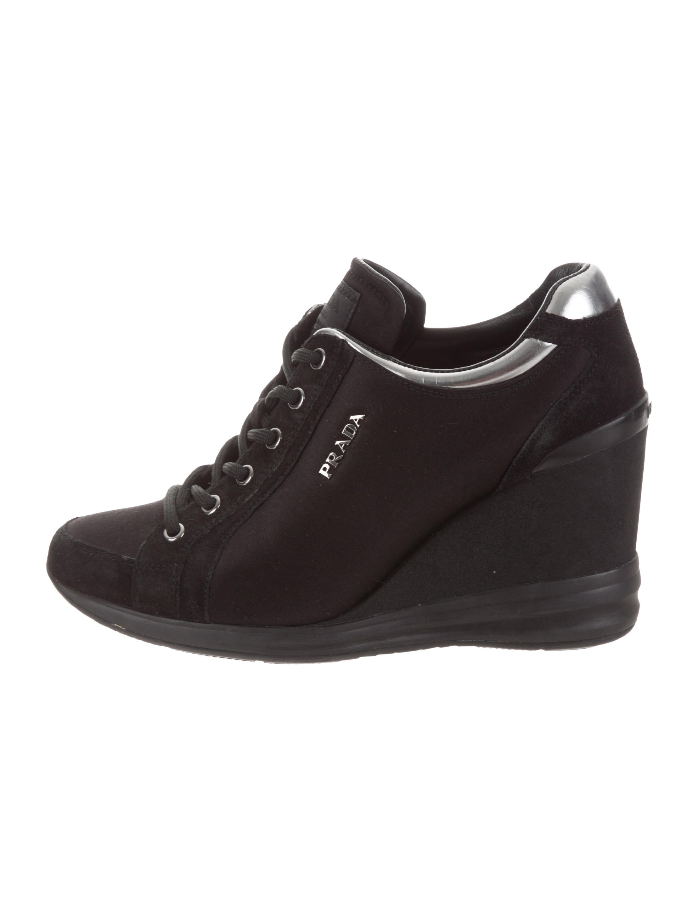1470c0b2ab7 Women · Shoes  Prada Sport Suede Wedge Boots. Suede Wedge Boots
