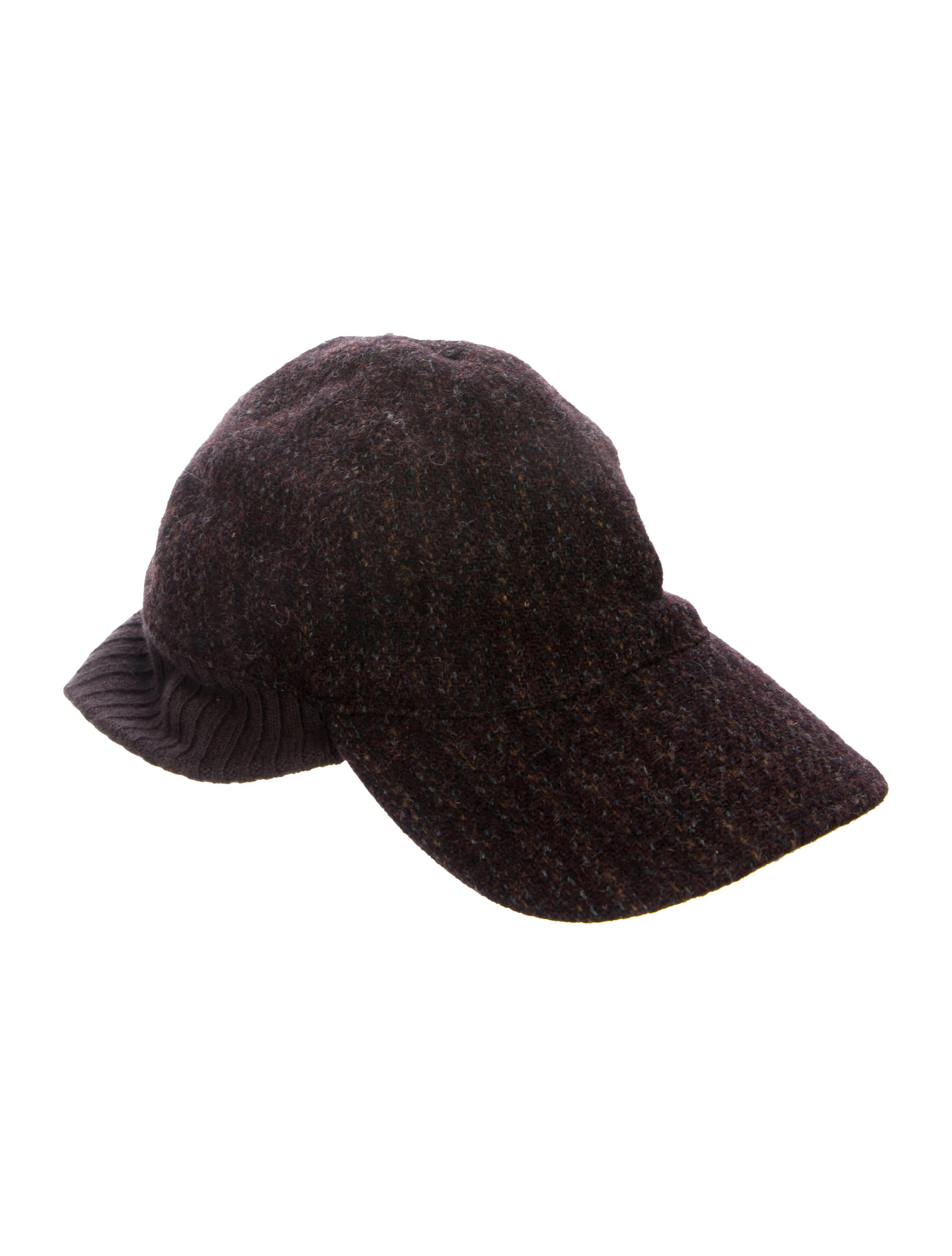 1f611ed6e6f Prada Sport Rib Knit Wool Hat - Accessories - WPR56176