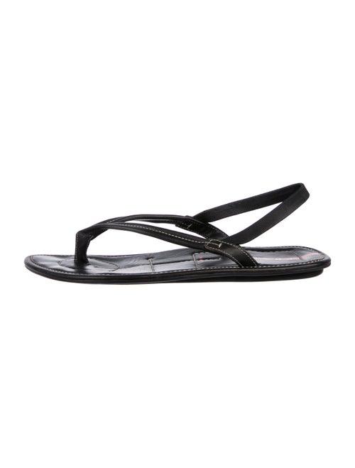 9e11d050d Prada Sport Leather Flip Flop Sandals - Shoes - WPR61862