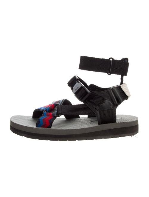 4eee0fb6c46245 Prada Sport Multistrap Leather Sandals - Shoes - WPR61981