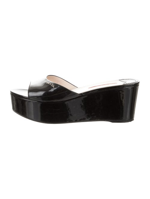 30def07e1 Prada Sport Wedge Slide Sandals - Shoes - WPR65221 | The RealReal