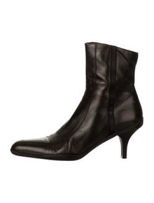 e6418074c8dd6 Prada Sport. Leather Ankle Boots