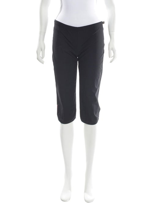 Prada Sport Straight Leg Pants Black