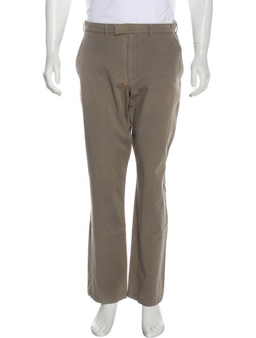 Prada Sport Flat Front Pants khaki