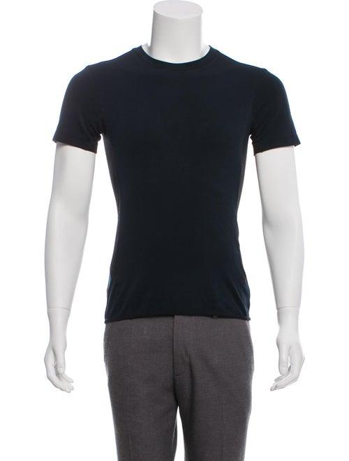 Prada Sport Mesh Accented T-Shirt blue