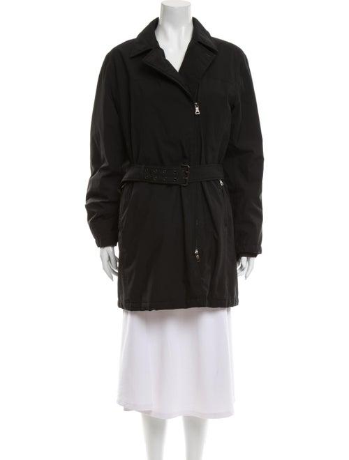 Prada Sport Trench Coat Black