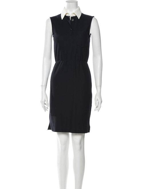 Prada Sport Knee-Length Dress Blue