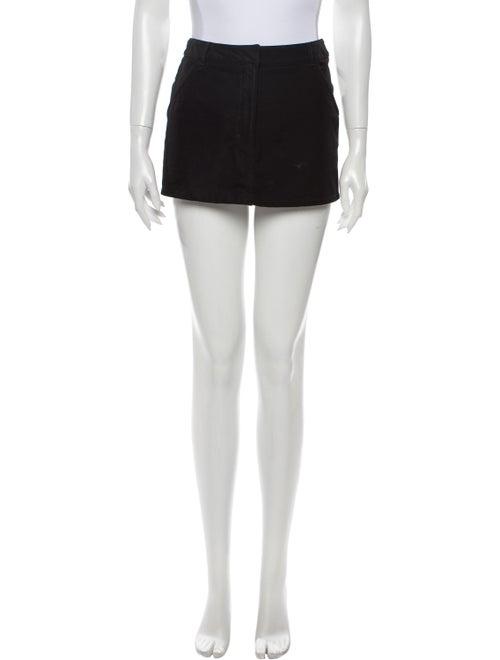 Prada Sport Mini Skirt Black