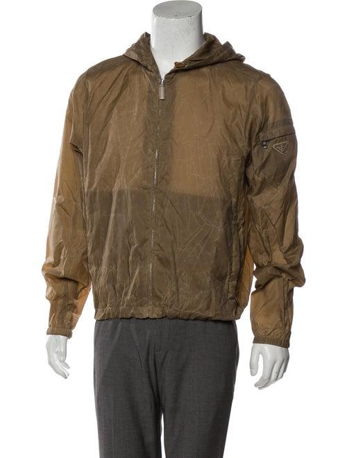Prada Sport Distressed Lightweight Jacket