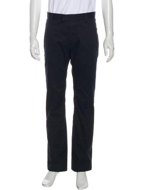 Prada Sport Straight-Leg Twill Pants navy