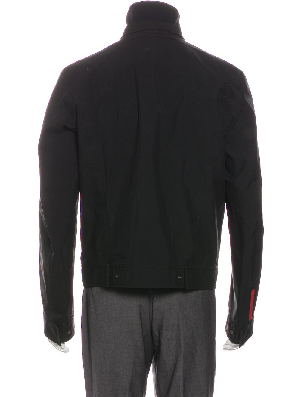 Prada Sport Trucker Jacket Black - image 3
