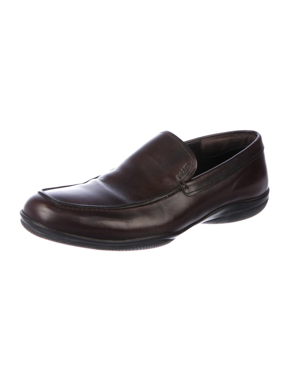 Prada Sport Leather Loafers Brown - image 2