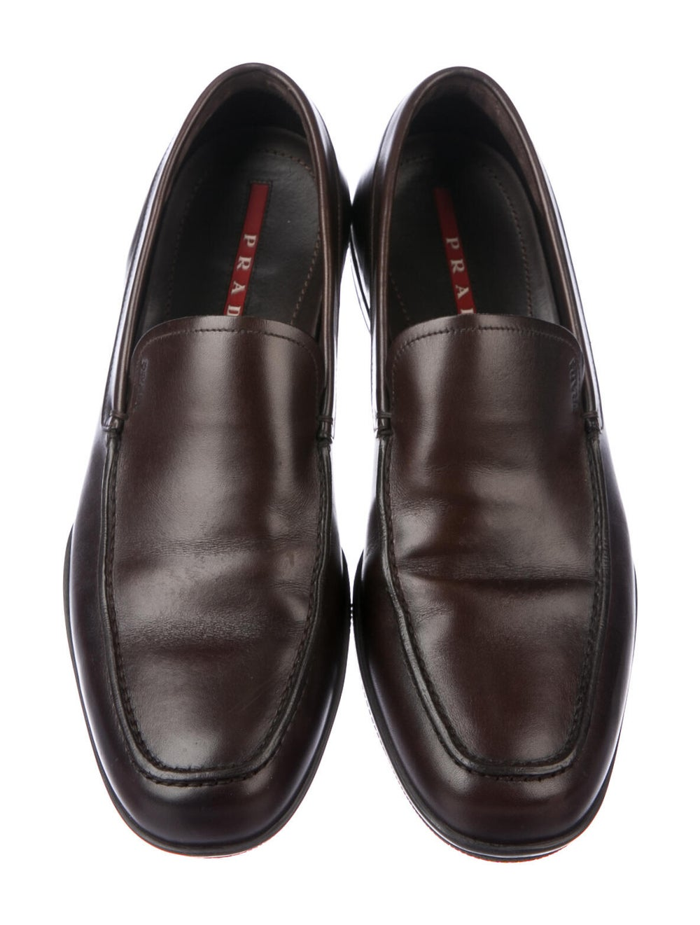 Prada Sport Leather Loafers Brown - image 3