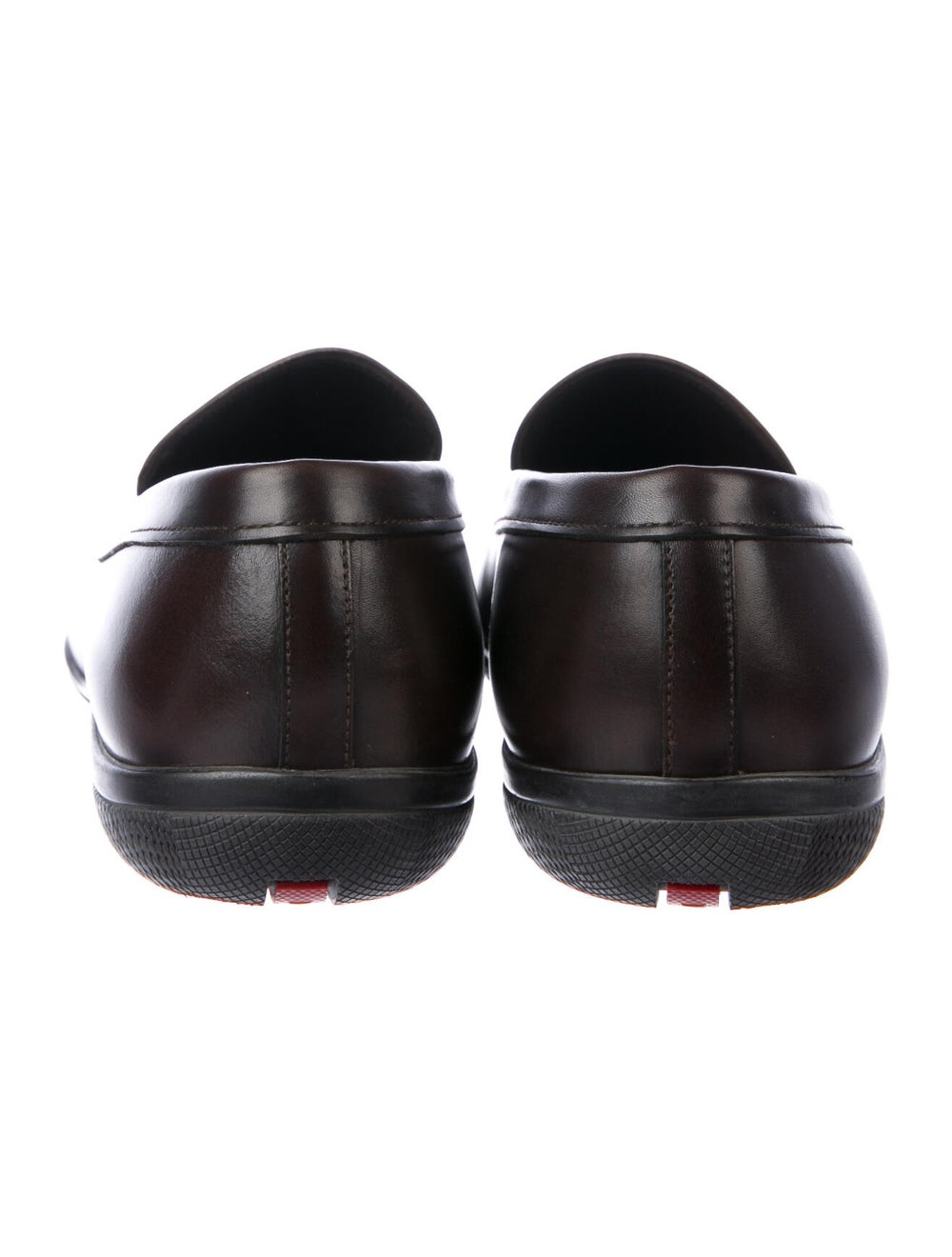 Prada Sport Leather Loafers Brown - image 4