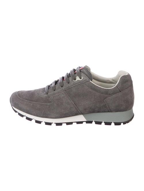 Prada Sport Suede Sneakers Grey - image 1
