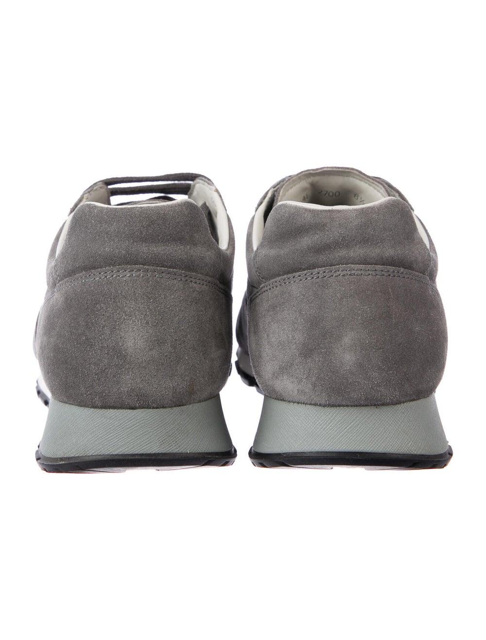 Prada Sport Suede Sneakers Grey - image 4