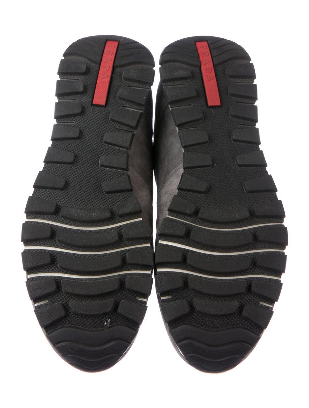 Prada Sport Suede Sneakers Grey - image 5